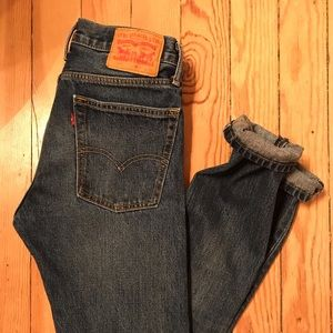 Men's Levi's 30x 32 natural wash slim fit